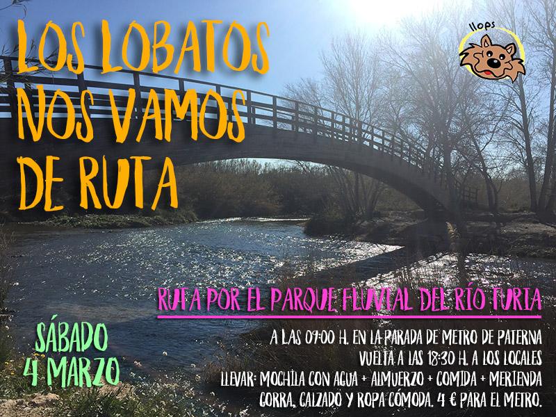Los lobatos se van de ruta por el Parque Fluvial del río Turia