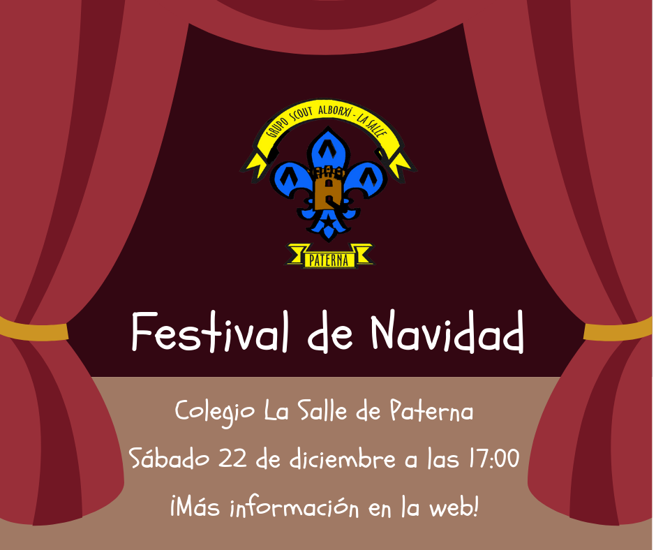 Cartel Festival de Navidad